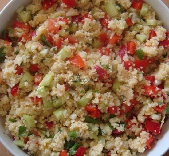 Tabbouleh, czyli sałatka z kuskusem