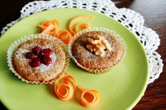 Babeczki marchewkowe - muffiny