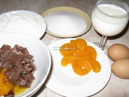 Babeczki - muffinki - składniki