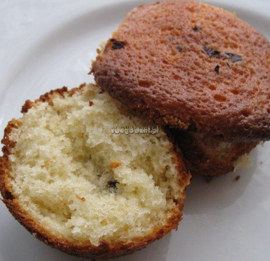 Babeczki - muffiny czekoladowe z ciastem jogurtowym