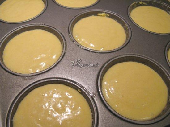 Muffinki przed pieczeniem
