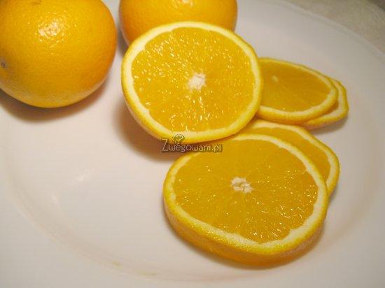 Babeczki pomarańczowe - składniki
