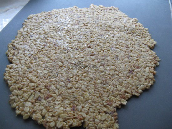 Ciasteczka owsiane - masa na ciastka