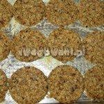 Ciasteczka owsiane na blasze