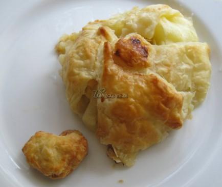 Ciastka francuskie z jabłkiem i migdałami