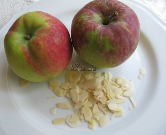 Ciastko francuskie z jabłkiem i migdałami - składniki