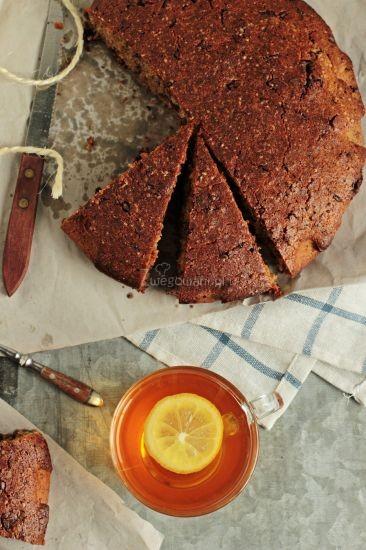 Ciasto czekoladowe z oliwą i rozmarynem