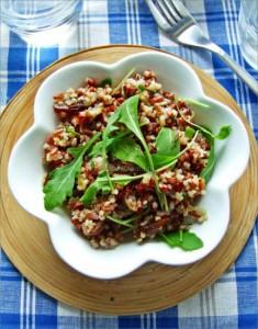 Czerwony ryż z quinoa