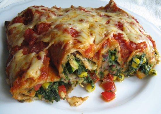 Gotowa enchilada wegetariańska