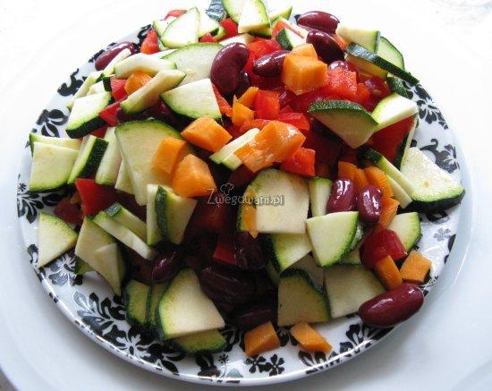 Paleta warzyw do enchiladas