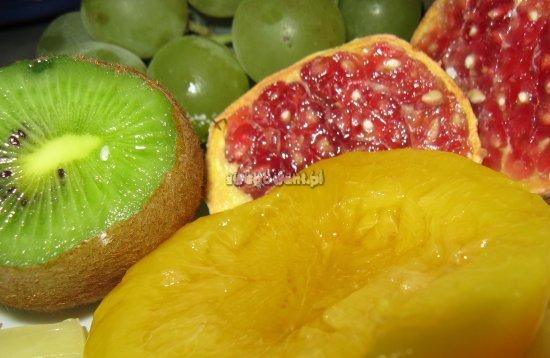 Owoce na gofry