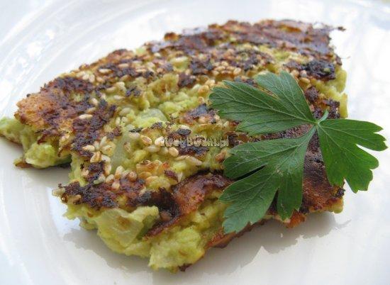 Guacamole - placki z awokado