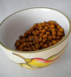 Indyjska przekąska z cieciorki
