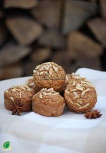 Jesienne muffinki z jabłkami