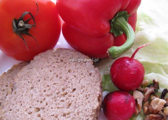 Kanapki z sałatą i rzodkiewką - składniki
