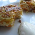 Wegetariańskie kotlety marchewkowe z ryżu