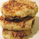 Kotlety ryżowe z tofu i kalafiora