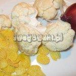 Kotlety z kalafiora - składniki