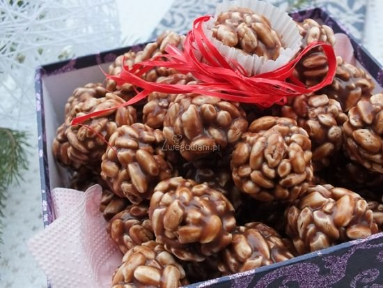 Kuleczki (szyszki) czekoladowe