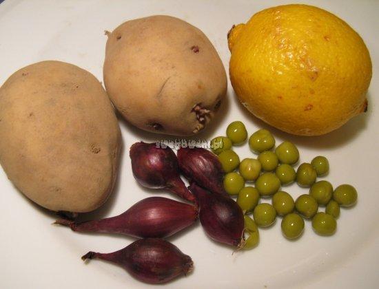 Kulki ziemniaczane - składniki