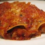 Makaron cannelloni z warzywami