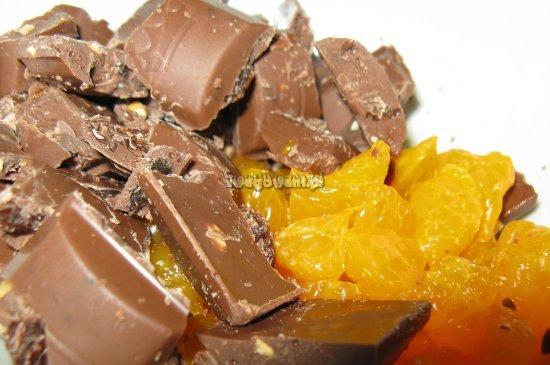 Mandarynki z czekoladą