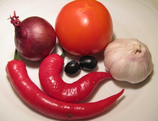 Naleśniki gryczane po prowansalsku - składniki
