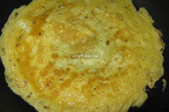 Smażenie omleta