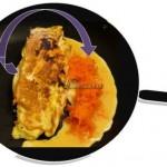 Schemat: Jak usmażyć omlet z marchewki