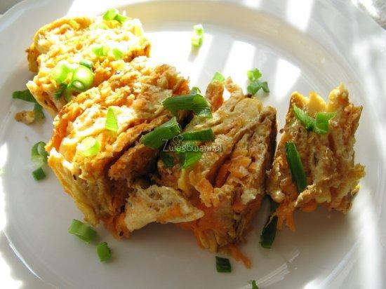 Omlet z marchewką