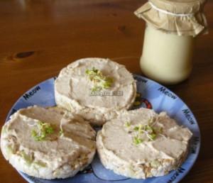 Pasta z białej fasoli z chrzanem