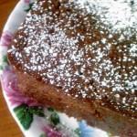 Piernik wegański z powidłami