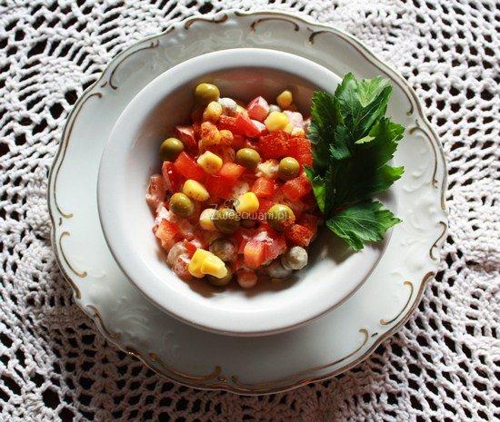 Pikantna sałatka z papryki