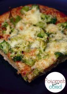 Pizza z brokułami