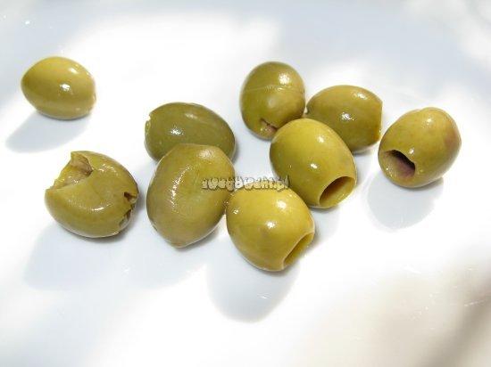 Placek oliwkowy - składniki
