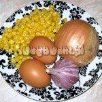 Placki kukurydziane składniki