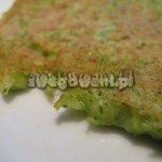 Placki z brokułów