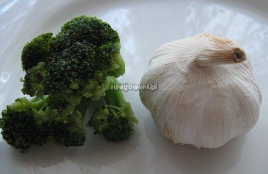 Placki z brokułów - składniki