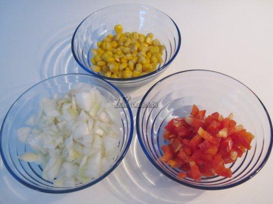 Quasadilla z tofu - składniki