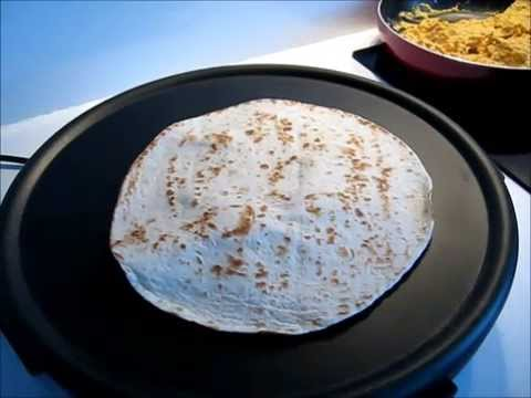 Quesadilla z tofu [video]