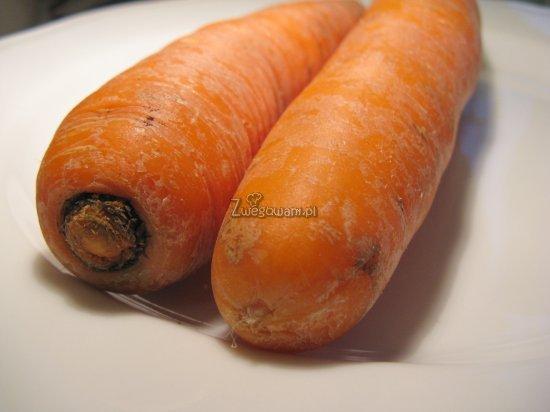 Racuchy z marchewki - składniki