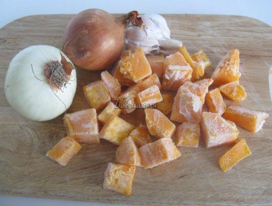 Ratatouille z dynią z kotletami z boczniaków - składniki