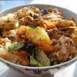 Sałatka marchewkowa z ziarnami i awokado