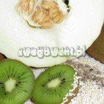 Sałatka owocowa z kiwi, melona i amarantusa - składniki