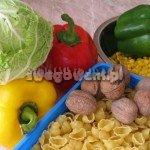 Sałatka z makaronem - składniki