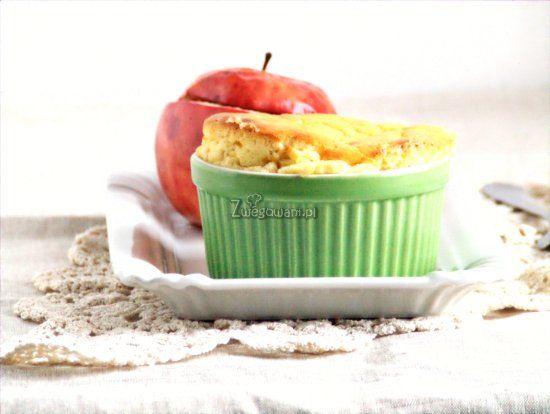 Serowe sufleciki i jabłka nadziewane granolą