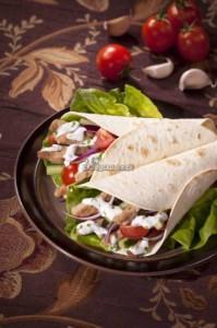 Sojowy kebab