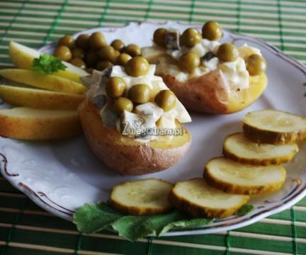 Sos musztardowy z warzywami i jabłkiem