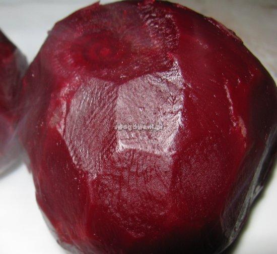 Surówka z buraków i orzechów - składniki