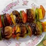 Szaszłyki wegetariańskie, czyli szaszłyki warzywne z grilla